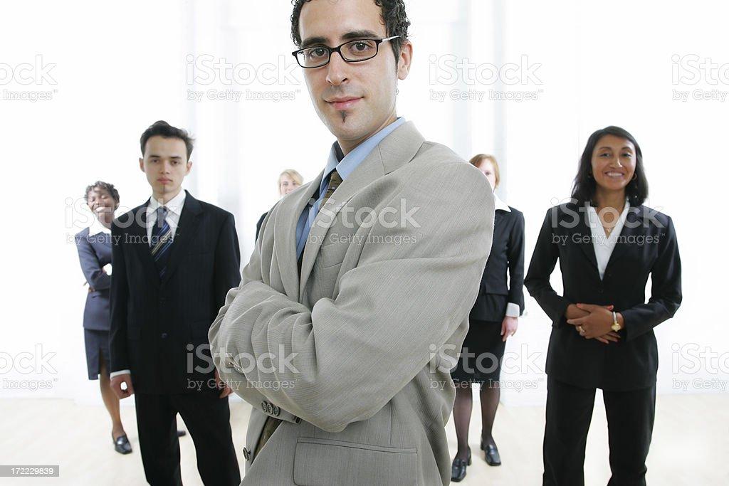 Businesspeople : Team II royalty-free stock photo
