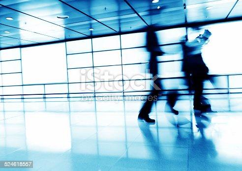 171150458 istock photo Businesspeople walking 524618557