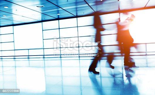 171150458 istock photo Businesspeople walking 652222356