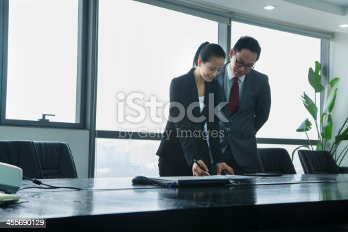 496441730 istock photo Businesspeople Working Together 455690129