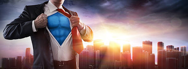 business's superhero - super hero stock pictures, royalty-free photos & images