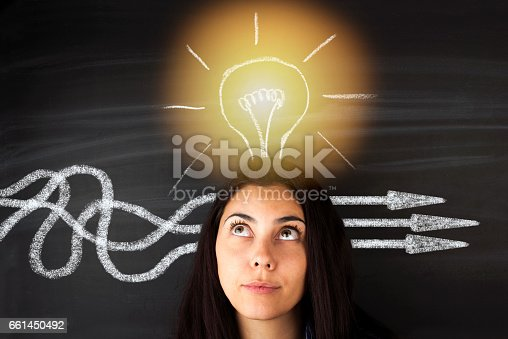 istock BusinessThinking about structuring business process and solutions 661450492