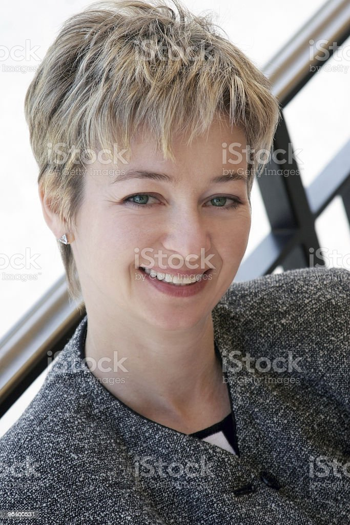 Businesswoman at lunch - Royalty-free Adult Stock Photo