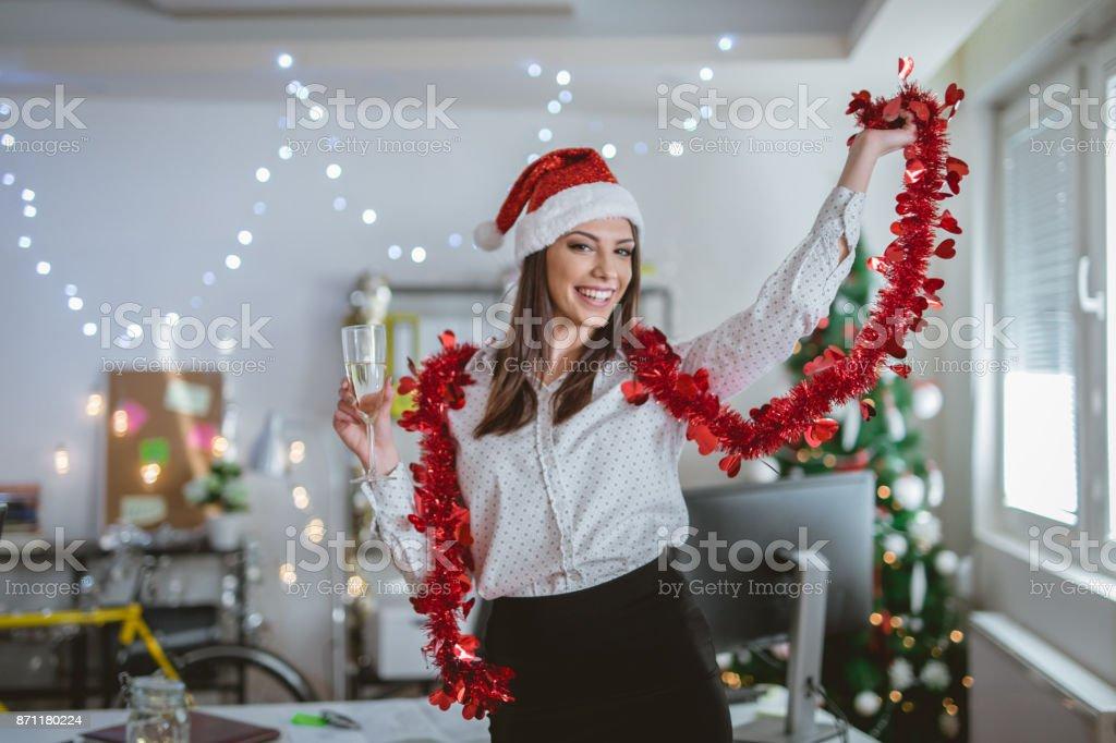 実業家祝う新年 ストックフォト