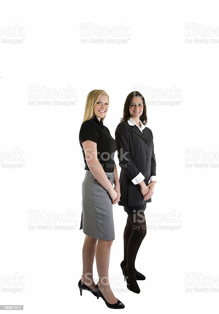 Businesswoman Full Body royalty-free stock photo
