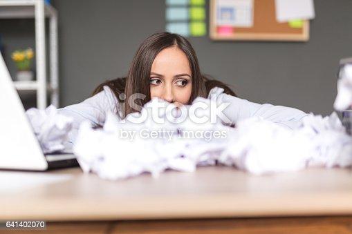 187928332istockphoto Businesswoman had enough 641402070