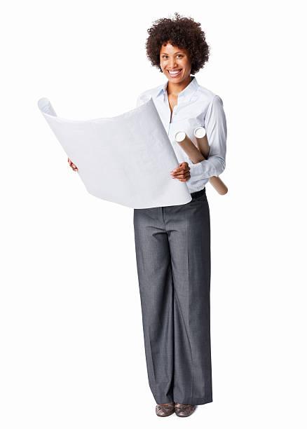 Geschäftsfrau Holding Werkzeuge – Foto