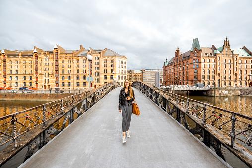 Businesswoman in Hamburg