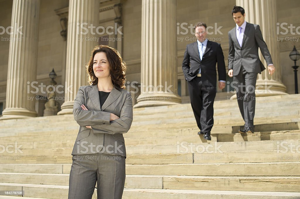 businesswoman leader stock photo