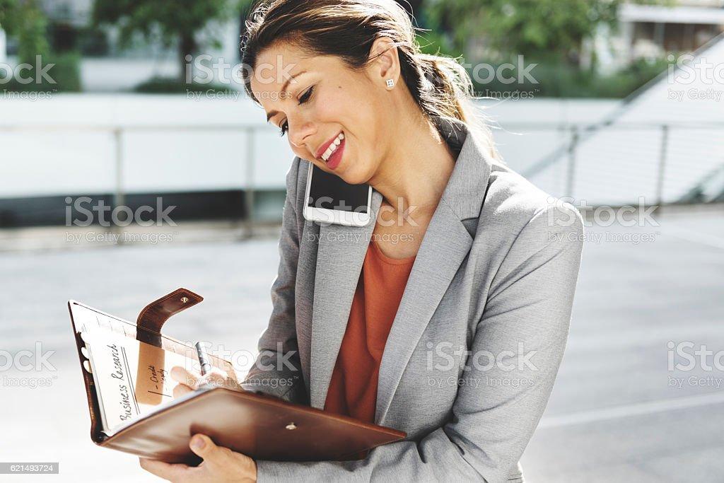 Geschäftsfrau Leadership Beruf Job Stadt Konzept Lizenzfreies stock-foto