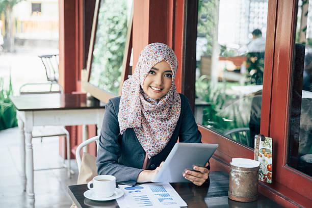 businesswoman on a coffee break - Photo