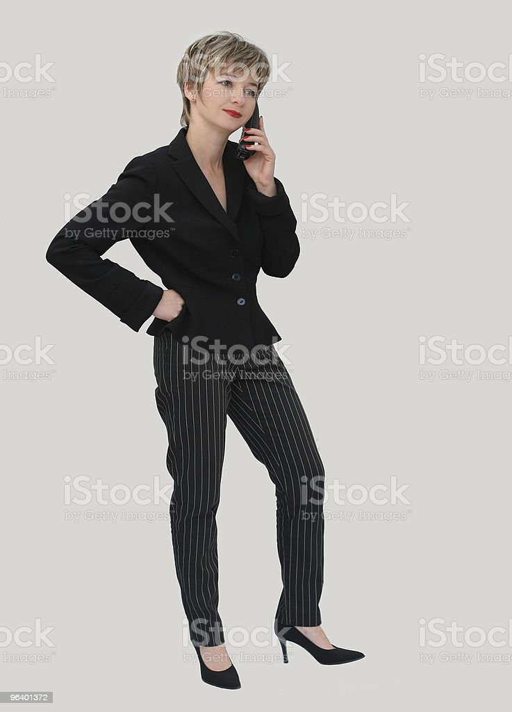 Businesswoman on the phone - Royalty-free Adult Stock Photo