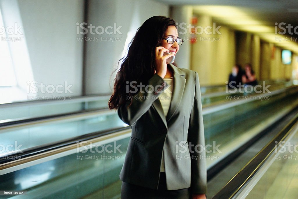 Businesswoman on the phone 免版稅 stock photo