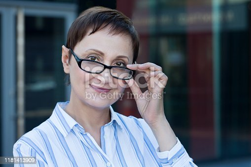 981750034 istock photo Businesswoman 1181413909