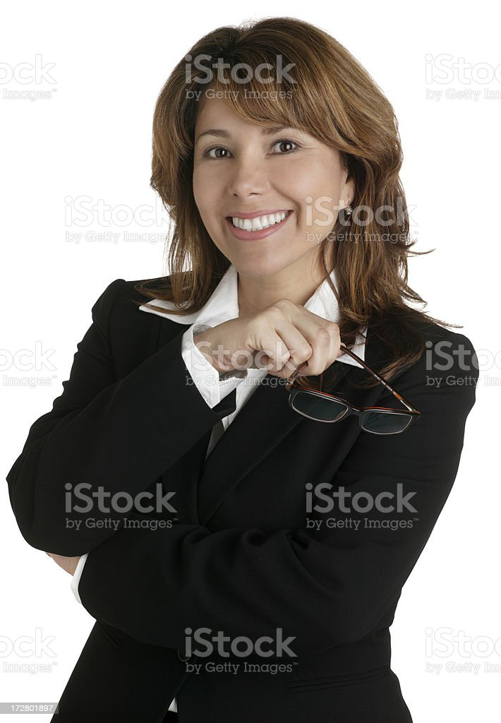 Businesswoman royalty-free stock photo