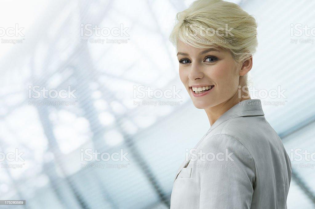 Geschäftsfrau - Lizenzfrei Architektur Stock-Foto