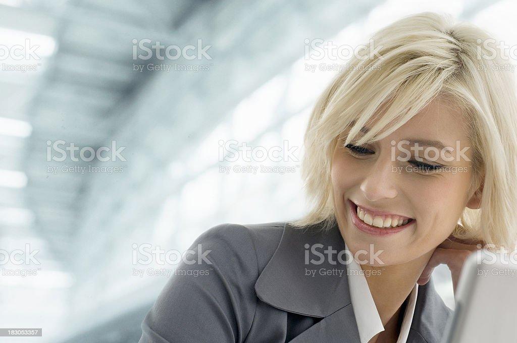 Geschäftsfrau - Lizenzfrei Anzug Stock-Foto