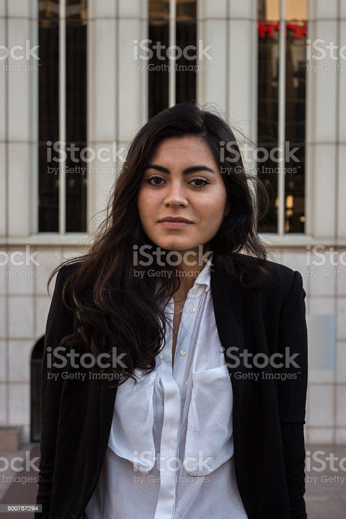Businesswoman. stock photo
