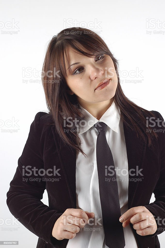 Donna d'affari#14 foto stock royalty-free