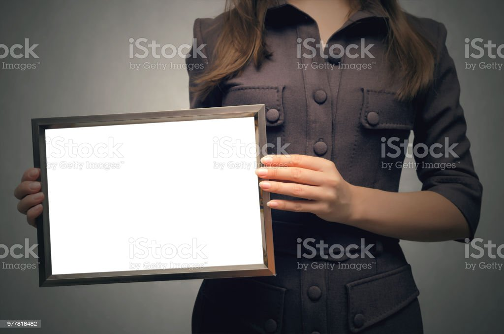Businesswoman. stock photo