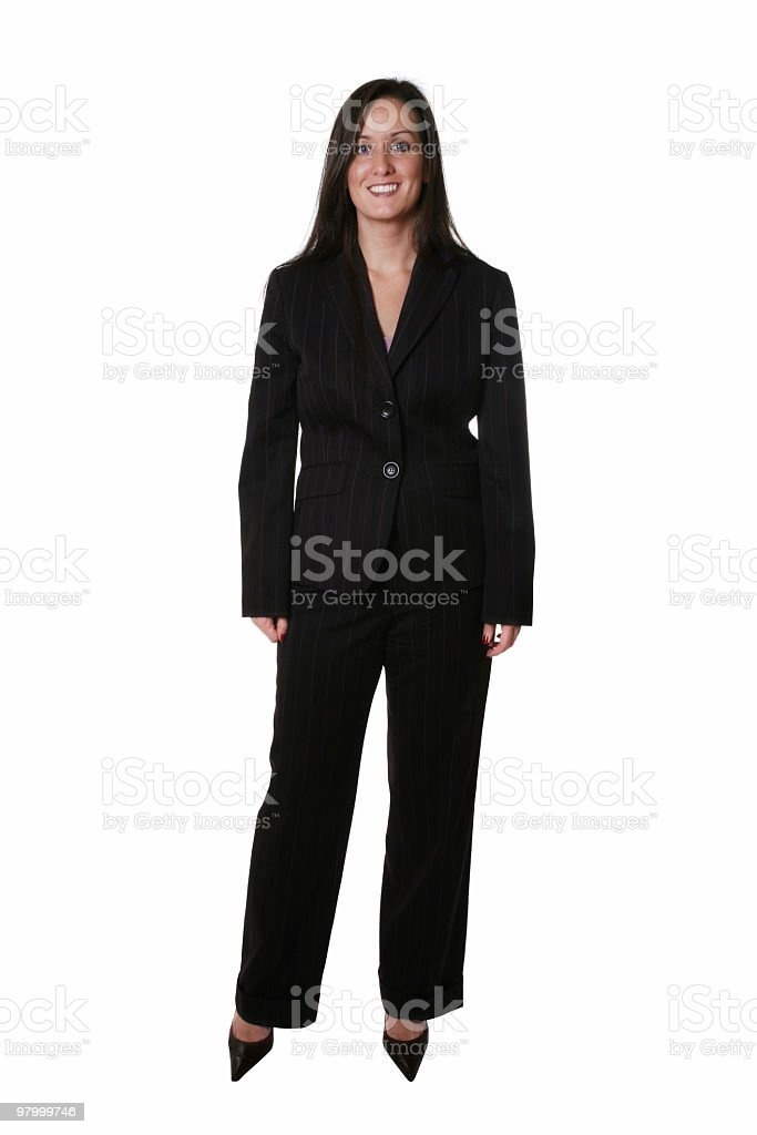 Businesswoman royalty free stockfoto