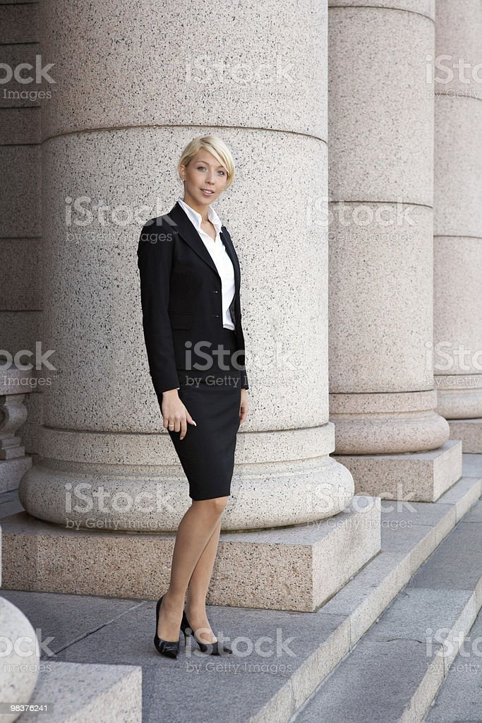 Donna in carriera foto stock royalty-free