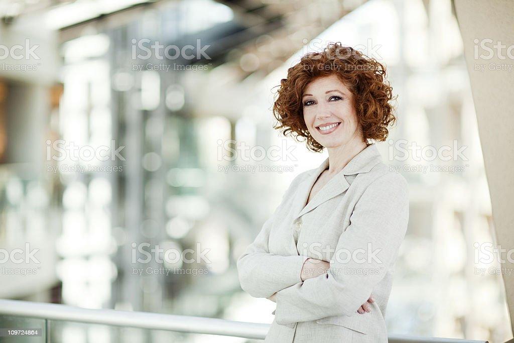 Geschäftsfrau Porträt – Foto