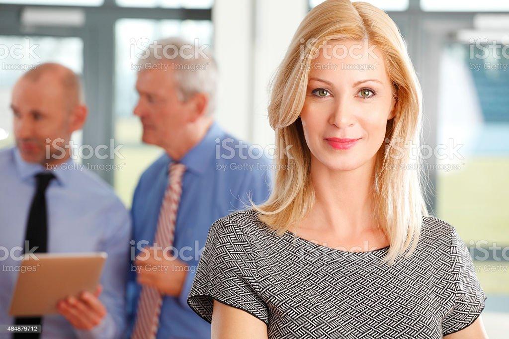 Businesswoman portrait stock photo