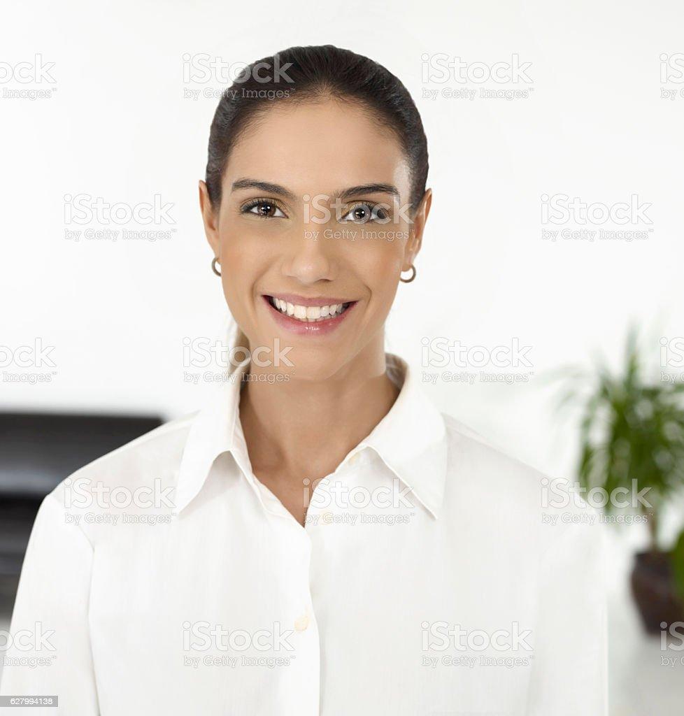 Retrato de Mulher de negócios  - foto de acervo
