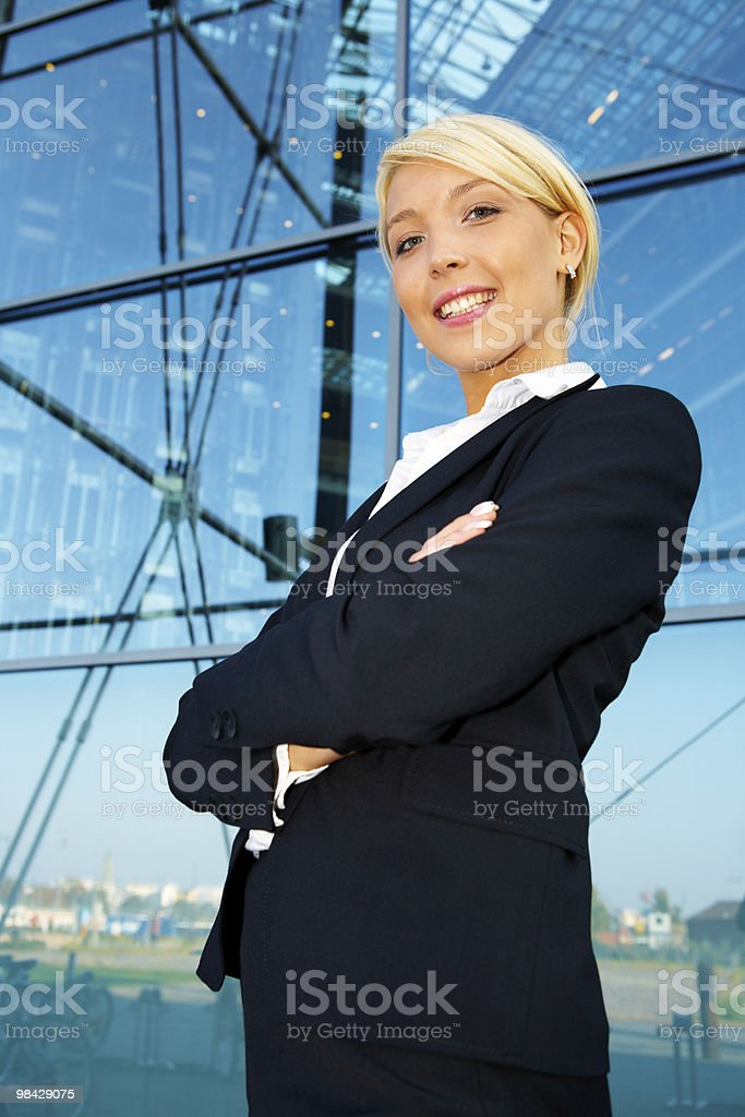 Businesswoman portrait royalty-free stock photo