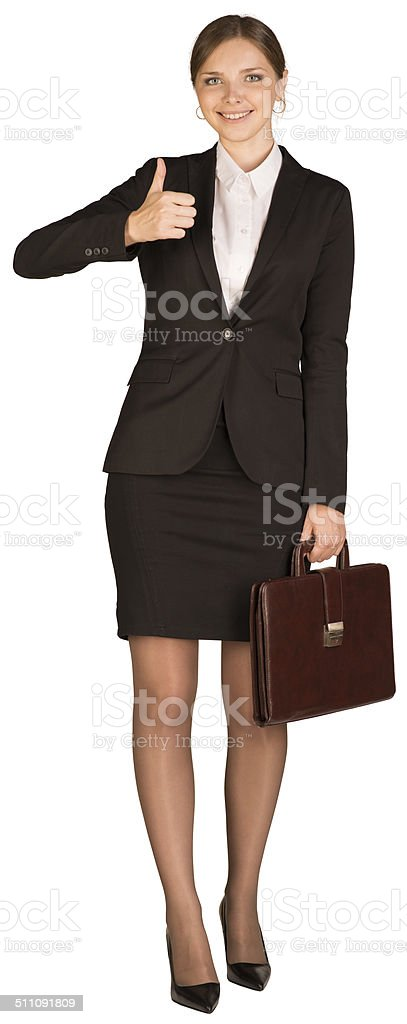 Short skirt thumbs