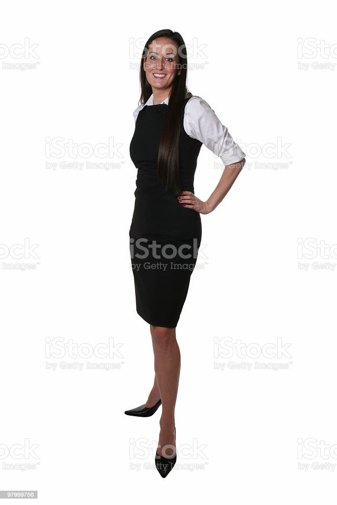 Businesswoman standing royalty-free stock photo