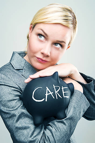 Businesswoman taking care of money  administrate stock pictures, royalty-free photos & images