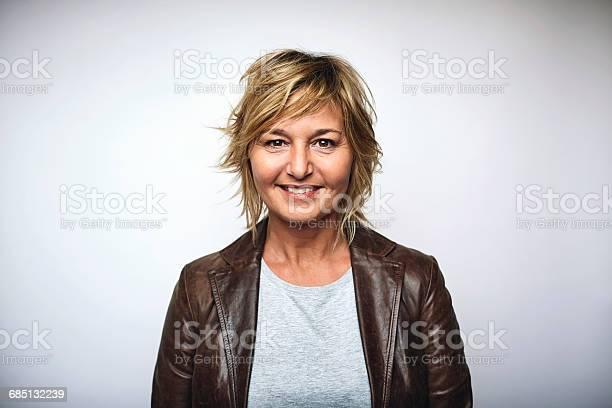 Businesswoman wearing leather jacket over white picture id685132239?b=1&k=6&m=685132239&s=612x612&h=7utss f0hxnjbx6ftjbi24w6zwleeb7o9zi7doy 2b0=