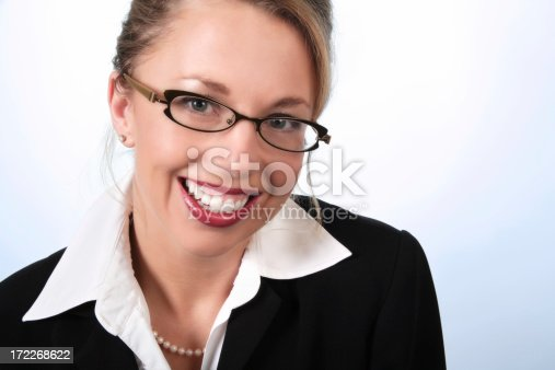 620404536istockphoto Businesswoman With Pearly White Smile 172268622