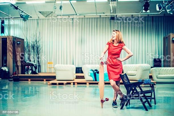Businesswoman with skateboard in office lobby picture id531334196?b=1&k=6&m=531334196&s=612x612&h=qq62zaq2cttglkdj 9stxg nppljxqmhbkqbnwtufwe=