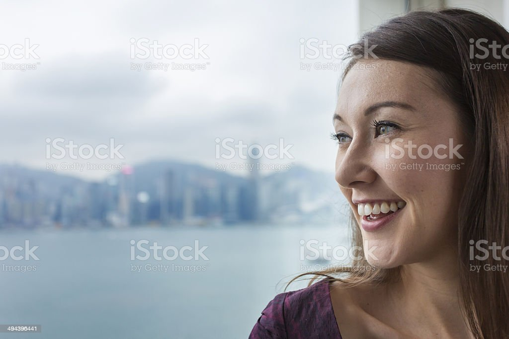 Businesswoman With View royalty-free stock photo