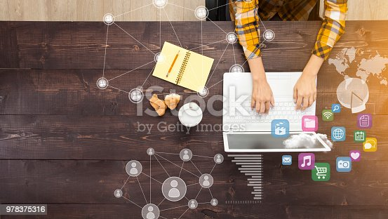 istock Businesswoman Working At Computer 978375316