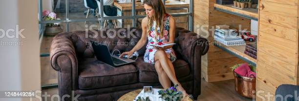 Businesswoman working with laptop in a coworking office picture id1248449284?b=1&k=6&m=1248449284&s=612x612&h=s221har1or4rxlusqsqoznirehjccsuk xu aapdkd0=