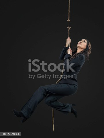 Businesswomen at the end of her rope