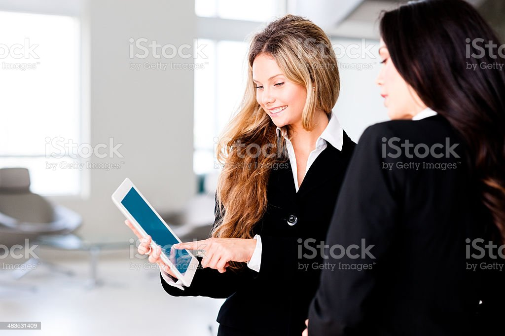 Businesswomen in Office stock photo