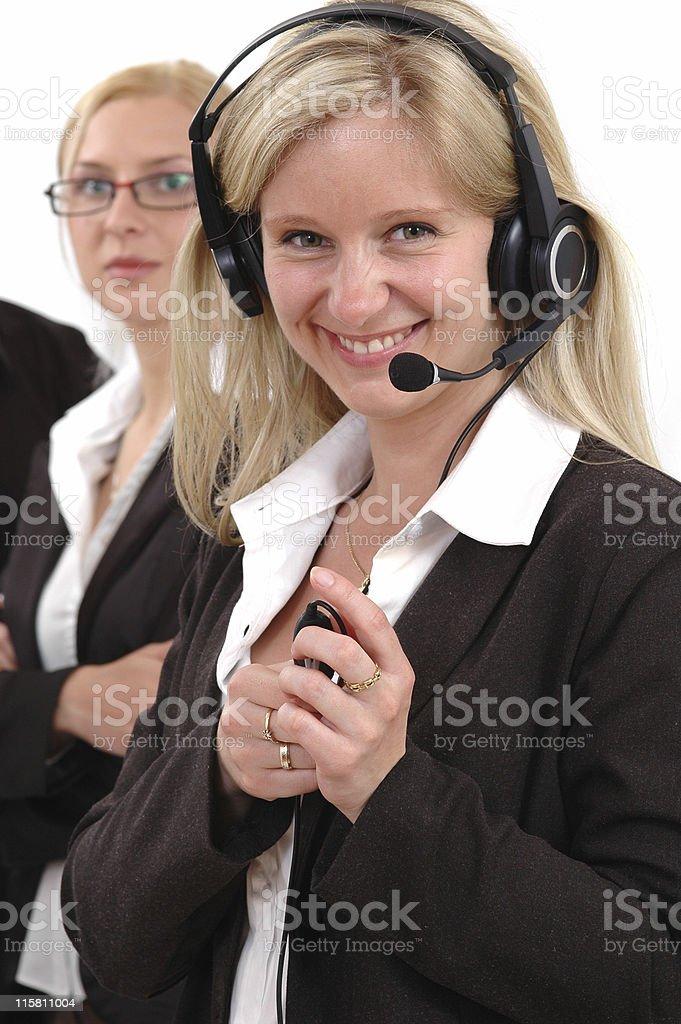 Businesswomen royalty-free stock photo