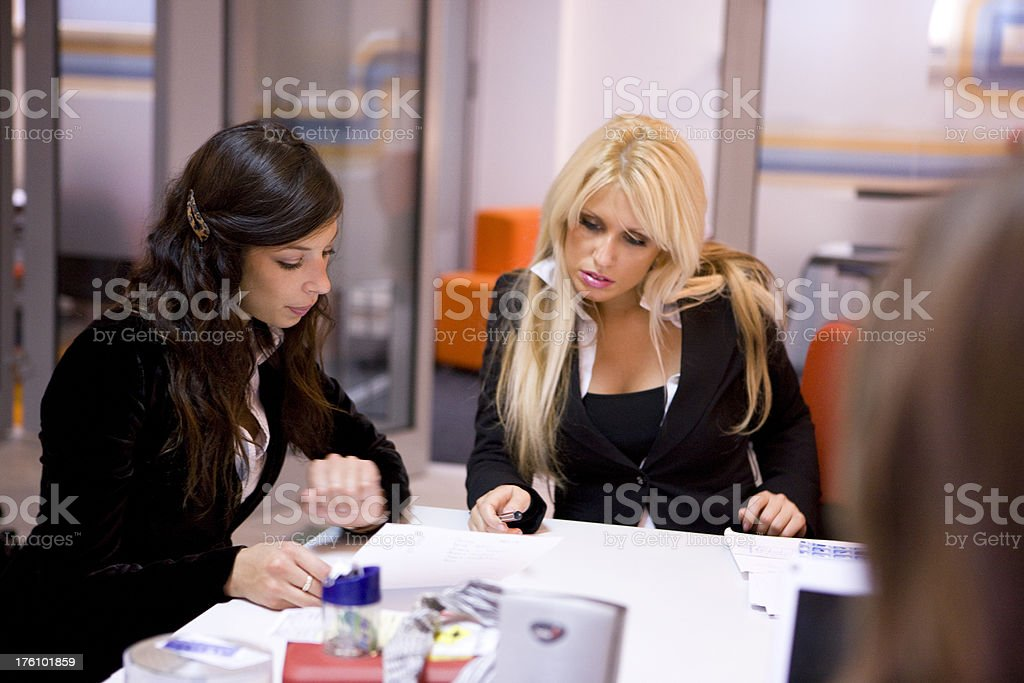 Businesswomen royalty-free stock photo