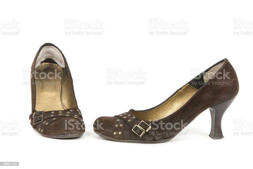 Businesswomen shoes royalty-free stock photo