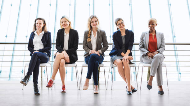 Businesswomen Teamwork Together Professional Occupation Concept - Photo