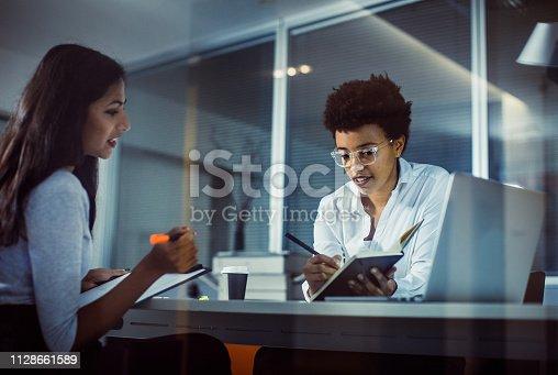 Businesswomen Working in The Office