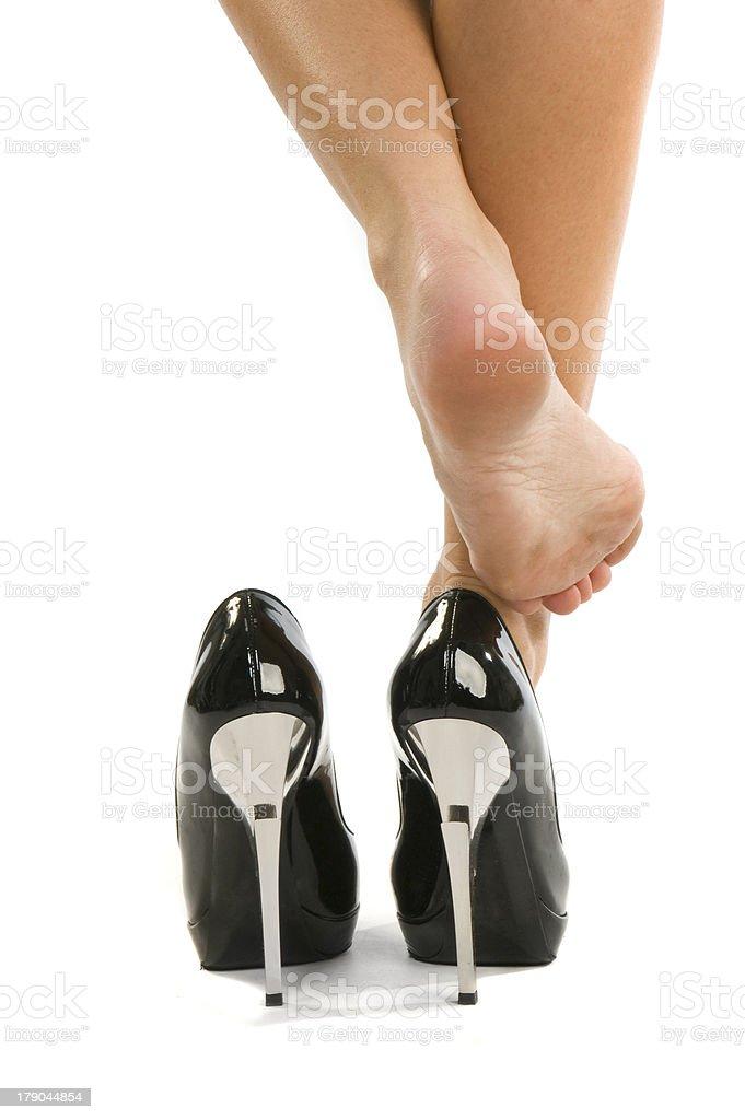 Деловых's legs стоковое фото