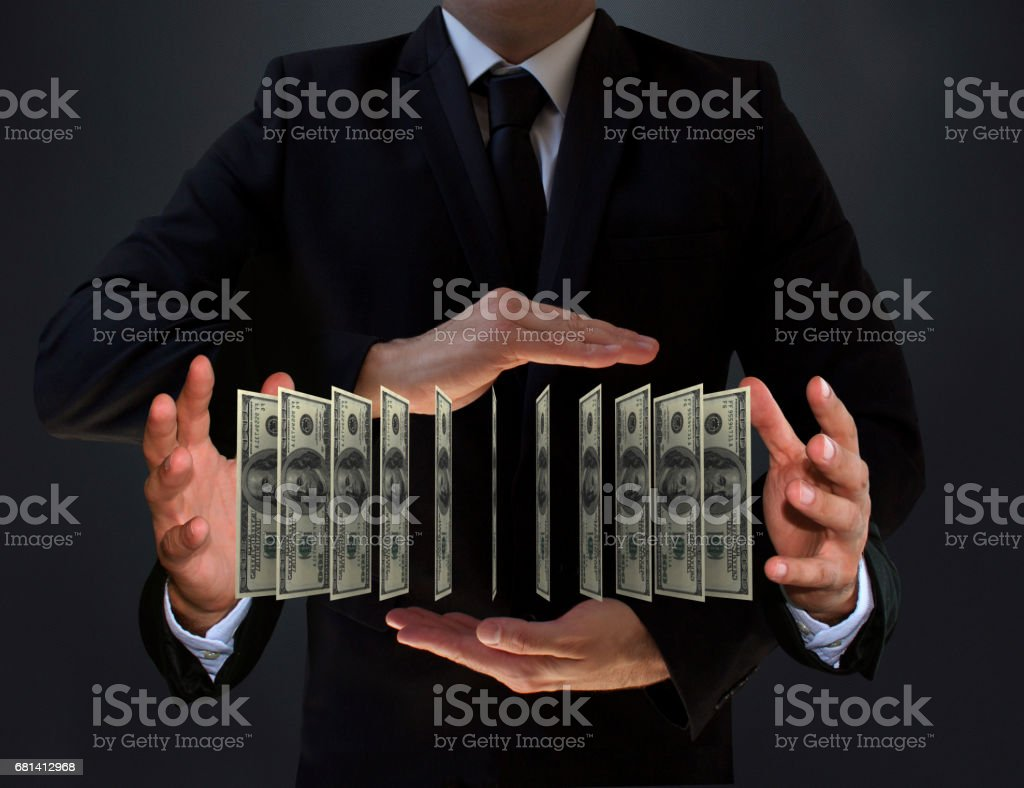 Businessworld and Richness stock photo