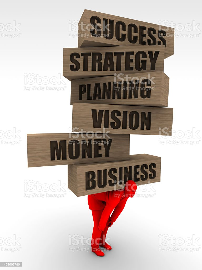Businessworld is Heavy stock photo