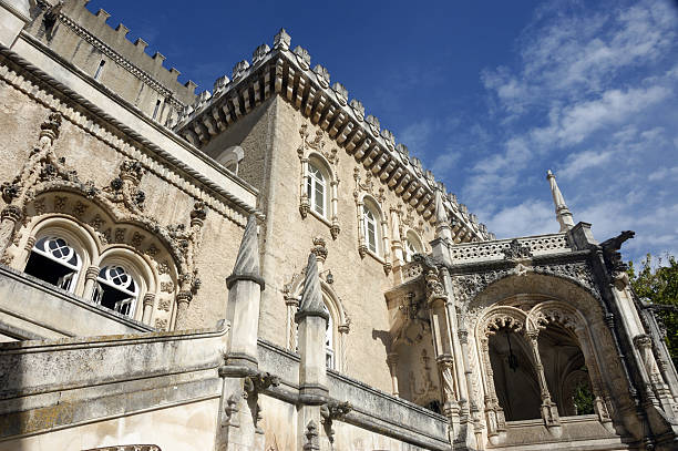 Bussaco Palace, Portugal stock photo